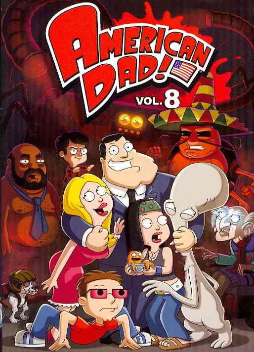 AMERICAN DAD VOL 8 BY AMERICAN DAD (DVD)